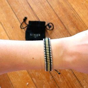 Vintage Links of London Silver Friendship Bracelet